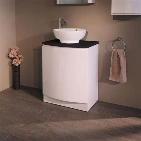 bathroom countertop basin units voss 620 floor mounted black countertop vanity unit