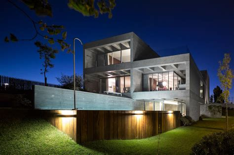 modern home cp house  goncalo das neves nunes