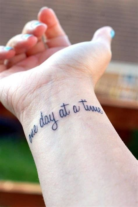 small tattoo quotes for girls 100 small tattoos for and
