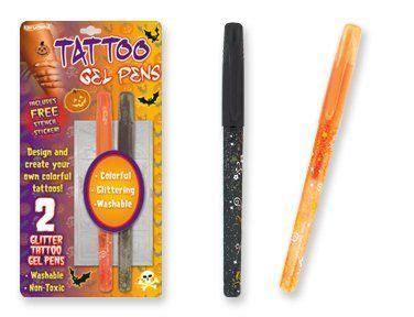 tattoo gel pens non toxic halloween tattoo gel pens set of 2 by dm 3 79 stencils