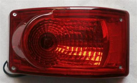 find volvo bus tail stop lamp light red  bulbs  motorcycle  delhi delhi india