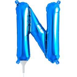5 x blue letter quot n quot 16 quot dreemway