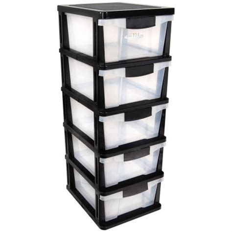 Plastic Shelves With Drawers drawers 4 plastic slide shelves crazysales au
