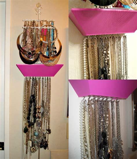 make a jewelry holder diy jewelry necklace holder