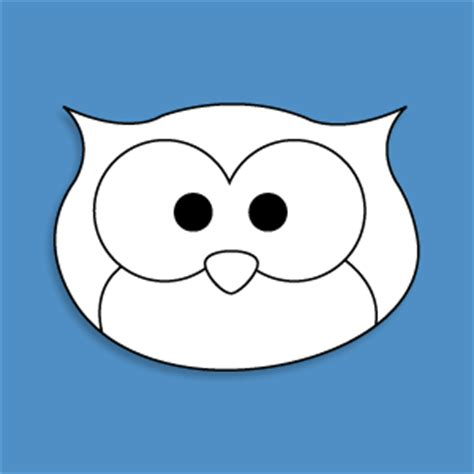 owl head printable owl template get the owl mask template and loads more