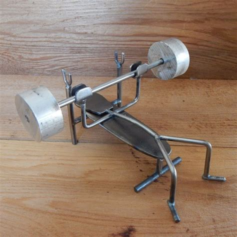 metal bench press metal folk bench press by fusedthoughts on etsy my