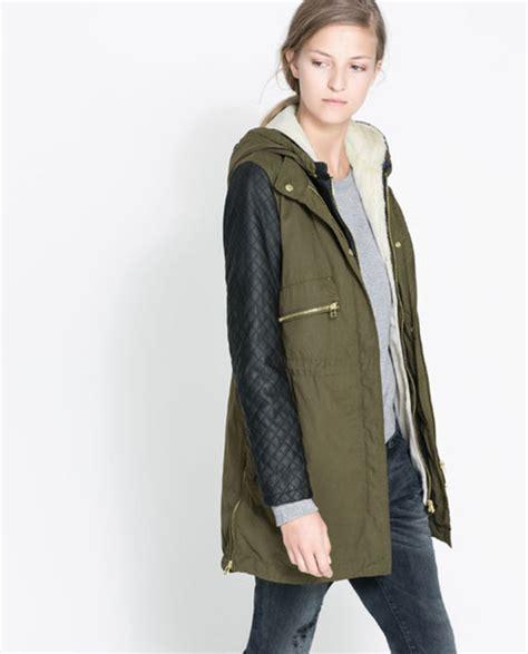 Jaker Hoodie Outerwear Jaket Bomber Hoodie coat zara jacket leather quilted army green jacket