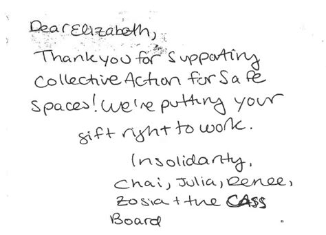 Handwritten Thank You Note For Donation Get Your Thank Yous On Track For Year End Network For