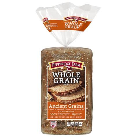 whole grains bakery pepperidge farm fresh bakery whole grain ancient grains
