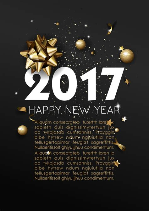 new year 2016 poster template styles happy new year 2017 poster template vector 02