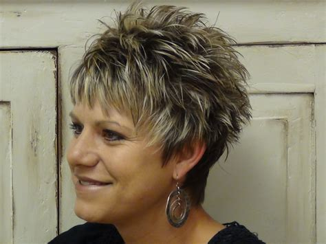 haircuts for women long hair that is spikey on top short spikey hairstyles for older women medium hair