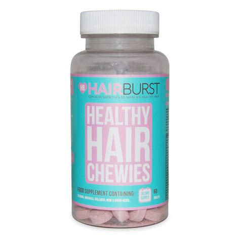 hairburst for men hairburst strawberry chewable vitamin 60 capsules free