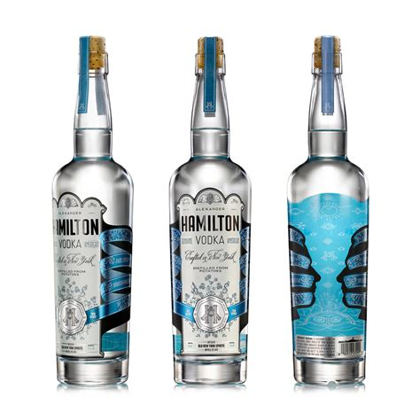 uzbek vodka the dieline branding packaging design alexander hamilton vodka the dieline branding
