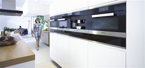 Black Appliances Kitchen Design by Design For Life Built In Kitchen Appliances From Miele