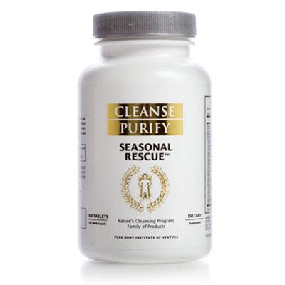 Rescue Detox Results by Seasonal Rescue Cleanse Purify By Herbs Can Cleanse