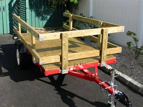 folding trailer boat kit 1000 ideas about utility trailer on pinterest trailers