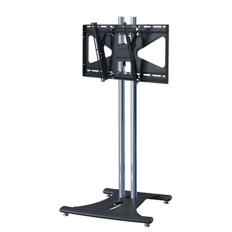 72 Inch Floor L by Premier Mounts 72 Inch Floor Stand With Ctm Mount For 37