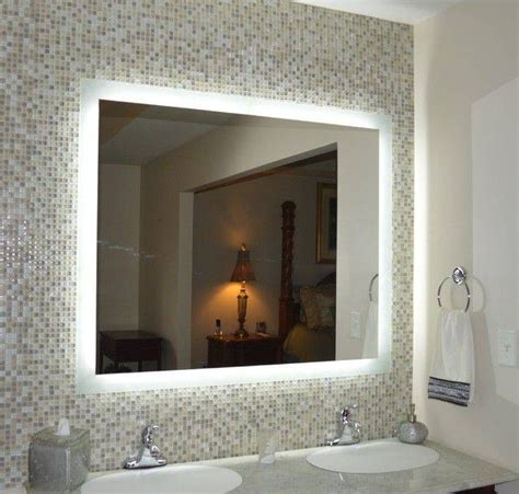 Best Mirrors For Bathrooms by 15 Best Ideas Of Lighted Wall Mirrors For Bathrooms