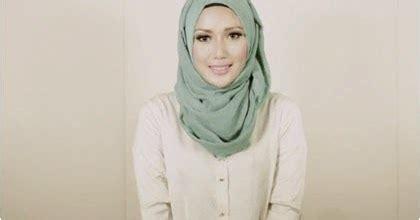 tutorial jilbab yang praktis cara memakai jilbab terbaru yang praktis tanpa jarum