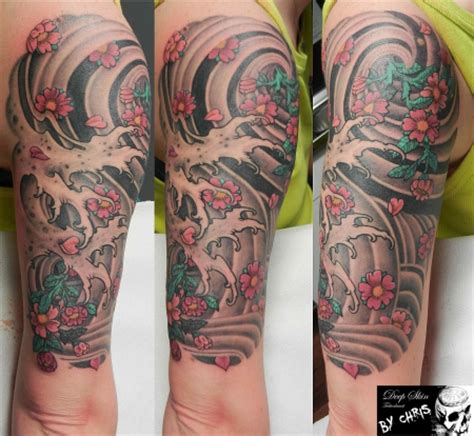 Asia Arm by Chris Jakele Softer Asia Arm Tattoos