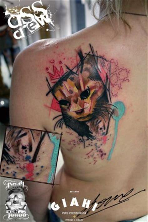 cat king tattoo george drone best tattoo ideas gallery
