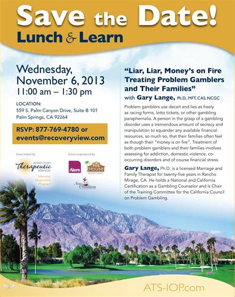 luncheon flyer template 12 best images about lunch and learn on rick