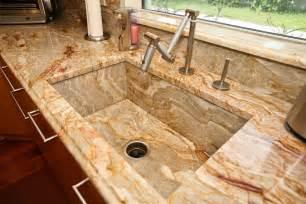 Kitchen Countertop Ideas kitchen countertop ideas with custom sink regarding kitchen countertop