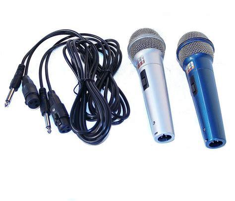 Mic Kabel 6 2 mikrofone 2 5m xlr kabel auf 6 3mm anschluss mikrofon microphone sy 228 ebay