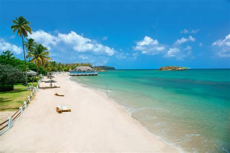 sandals halcyon beach st lucia luxury included in st - Paito Saint Lucia