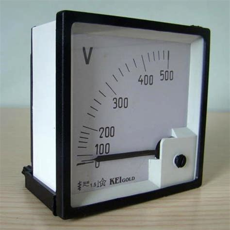 Voltmeter Analog industrial electrical products ammeter selector switch hrc fuse holder manufacturers