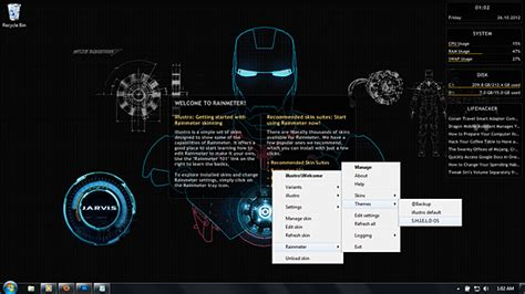 jarvis theme download for mobile tema jarvis windows 7 download