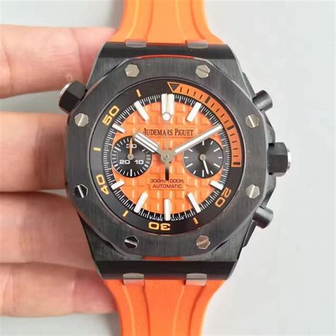 Audemars Piguet Royal Oak Offshore Diver Swiss Clone 1 1 Best Edition 1 replica audemars piguet royal oak offshore diver chronograph 26703 jh ceramic orange swiss