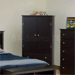 Wardrobe Armoire Dresser Black Prepac Sonoma 2 Drawer Wardrobe Armoire Black Bedroom