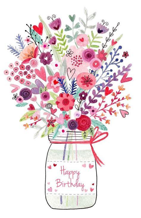 Heels Bunga Gf bouquet clipart happy birthday pencil and in color bouquet clipart happy birthday