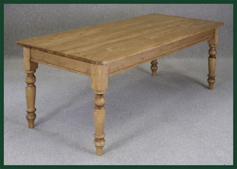 bespoke pine farmhouse table handmade to order bespoke