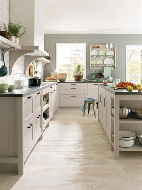 Warwickshire Kitchen Design by Canto Sand Grey Satin Sch 252 Ller Kitchen