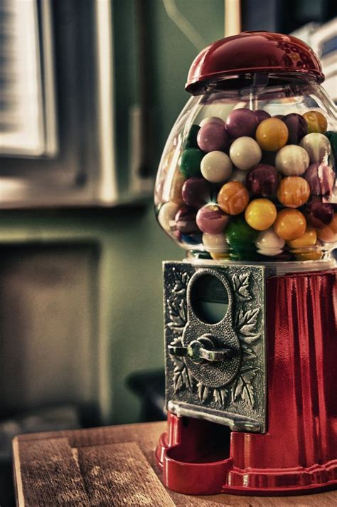 Restored Chewing Gum 63 best vintage gumball machines images on