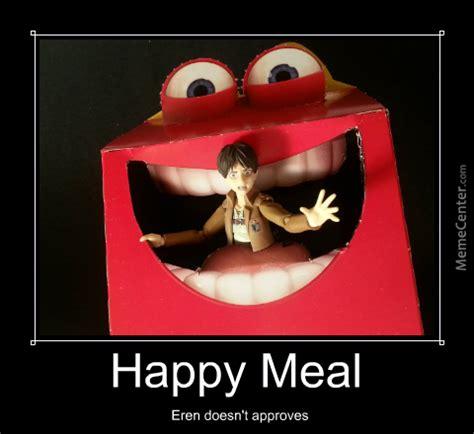 Happy Meal Meme - shingeki no happy meal by valpurgise meme center