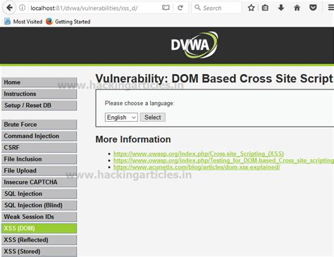 dvwa tutorial xss understanding dom based xss in dvwa bypass all security