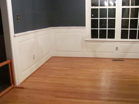 Wainscoting Around Windows Custom Carpenter Treatments