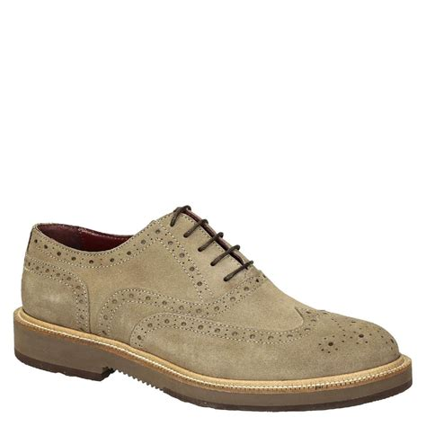 beige oxford shoes beige suede leather s wingtip brogues oxfords shoes