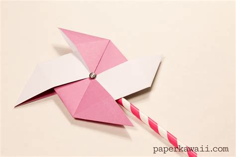 Origami Pinwheel - pinwheel origami gallery craft decoration ideas