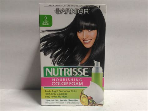 garnier foam hair color garnier nutrisse nourishing color foam permanent hair
