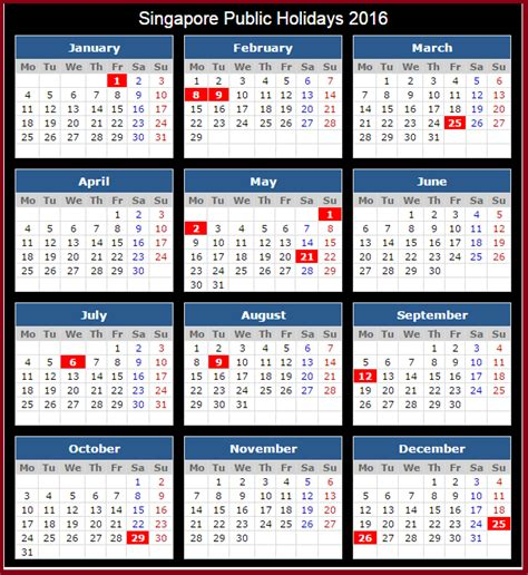 printable calendar singapore 2016 calendar singapore printable yearly calendar printable