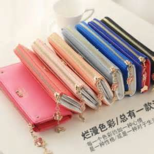 Dm672 Dompet Import Dompet Korea Wallet dompet wanita import korea model terbaru quot zipper wallet quot