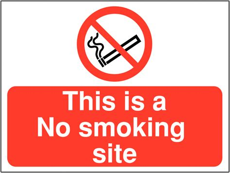 no smoking sign location construction signs this is a no smoking site seton uk