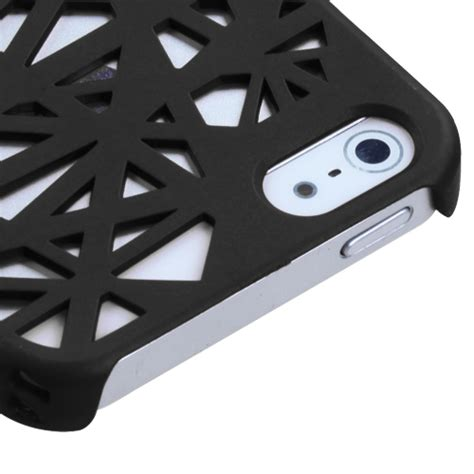 Spider For Iphone 5 5s spider web shell screen protector cover for