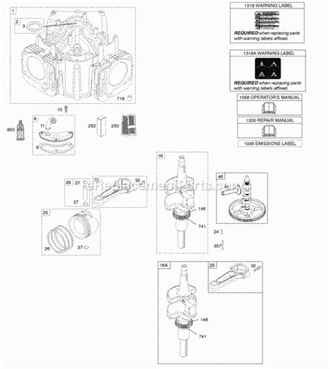 briggs and stratton intek 12 5 hp engine diagram html