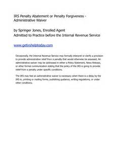 settlement letter to irs 3
