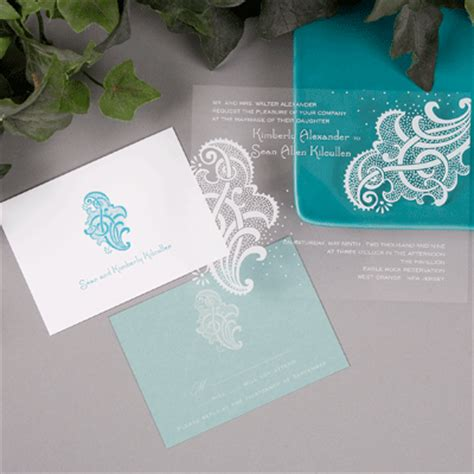 Carlson Craft Wedding Invitations by Clear Cut Carlson Craft Wedding Invitation